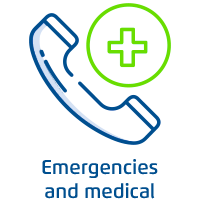 Emergencies and medical needs