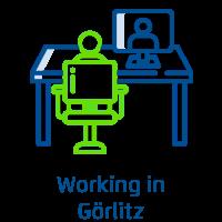 Working in Görlitz